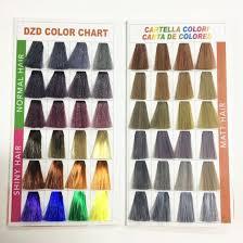 Hair Dye Color Chart For Hair Color China High Quality