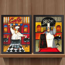 wood framed canvas pop art posters hipster wall decor 50 shades of chef kitchen decor for on retro diner kitsch kitchen wall art with shop diner kitchen on wanelo