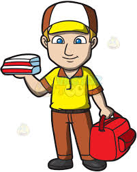 pizza delivery clipart. Fine Delivery A Pizza Delivery Guy Throughout Pizza Delivery Clipart R