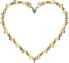 Decorative Line Clip Art Clipart Colorful Fancy Decorative Line Art Heart