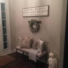 brilliant farmhouse living room wall