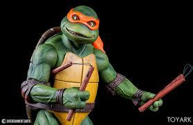 ninja turtles michelangelo. Simple Ninja NECA Quarter Scale TMNT Michelangelo 016 Intended Ninja Turtles E