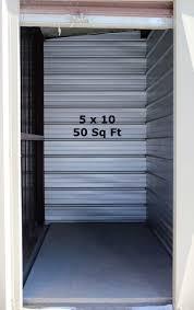 view larger image 5x10 storage unit interior