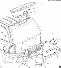 similiar chevy blazer parts diagram keywords 2005 chevy trailblazer parts diagram chevrolet trailblazer lamps rear