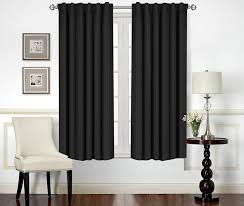 Wide Window Treatments amazon blackout room darkening curtains window panel drapes 3966 by xevi.us