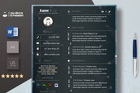 Elegant Resume Template Modern Resume Cv Template Clean Resume Professional Template For Word 100 Customizable
