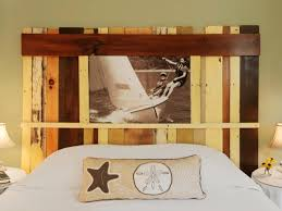 how to make a headboard from salvaged wood