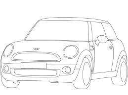 Austin Mini Cooper S Coloring Page - Free Printable Coloring Pages ...