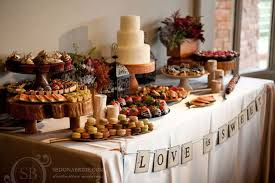 Wedding Food Tables Food Tables For A Backyard Reception Snack Table Wedding