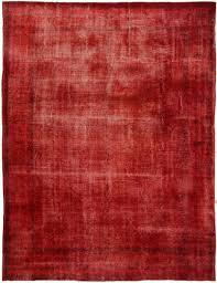 2755 overdyed vintage rug 300x395cm