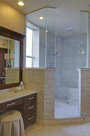 Large Corner Shower With An Exterior Wallwindow Want Doors To Extraordinary Master Bathroom Renovation Exterior