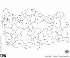 Kleurplaat Kaart Van Turkije Kleurplaten