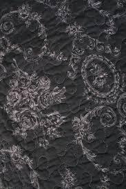 Quilt Throw French Country Dark Gray White Floral Toile Cotton Lap ... & ... detail Quilt Throw French Country Dark Gray White Floral Toile Cotton  Lap Blanket ... Adamdwight.com