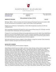 NNU graduates the Class of 2012 IMMEDIATE ... - Idaho Statesman