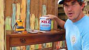 colorful painted furniture. How-to Paint/Distress/Antique Furniture: Project 3 Painted Blue, Refinished, And Distressed - YouTube Colorful Furniture
