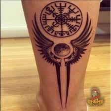 Viking Compass Vegvisir Tattoo Tattoo Tatuajes Vikingos