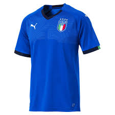 Puma Size Chart Football Shirt Puma Mens Figc Italia Replica Home Football Jersey
