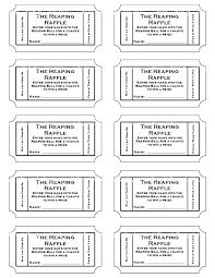 Free Printable Raffle Ticket Template Download Delectable Free Event Ticket Template Download Printable Christmas Raffle