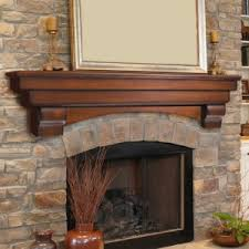 Reclaimed Cherry Fireplace Mantel With Scarf Joint  Antique WoodworksFireplace Mantel