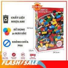 SIÊU KHUYẾN MÃI] Lego lắp ghép 1000 chi tiết hộp đỏ - Bộ đồ chơi xếp hình  sáng tạo cho bé trai và bé gái mẫu mới chính hãng 146,093đ