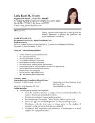 Live In Caregiver Resume Sample With Resume Objective Statements