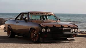 Corvair with a V8 Stuck in the Middle – Engine Swap Depot