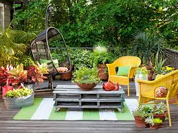 yellow outdoor furniture. Megawatt Yellow Chairs In A Cozy Outdoor Setting Furniture