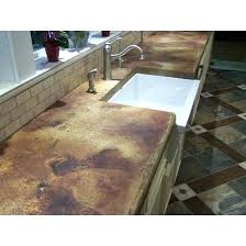 staining concrete countertops stained vs granite to look like marble pictures
