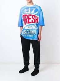 moschino fresh print t shirt farfetch moschino fresh print t shirt