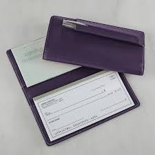 pennington checkbook cover g