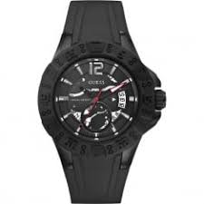 guess men s watches guess mens magnum watch w0034g3