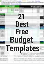 Best Budget Templates Best Free Budget Templates Spreadsheets Frugal Living