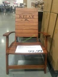 adirondack chairs costco folding chair wooden