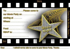 Movie Invitation Template Free Free Printable Gratuation Movie Themed Invitations Printable Movie 13