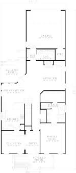 narrow lot house plans with rear garage