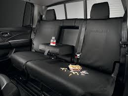 genuine oem 2017 2019 honda ridgeline rear seat covers