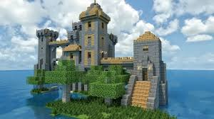 medieval isolate castle keep [creation] minecraft pe maps Castle Maps For Minecraft Pe a smaller castle isolated far out on the sea a really nice keep which can for example be used to build a larger castle city map out in the sea castle map for minecraft pe