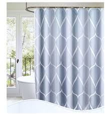 s lattye luxury shower curtain liner water repellent fabric mildew resistant washable cloth hotel quality eco friendly heavy weight hem 72 x 78