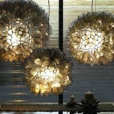 lotus flower chandelier pottery barn