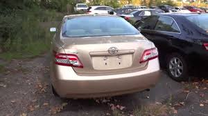 2010 Toyota Camry LE 4 Cyl Quick Tour, Engine, Overview - YouTube