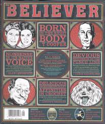 Believer magazine Nonsense in the native voice Born in the right body  Crochet | Make em laugh, Animal rights movement, Laughing so hard