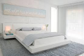 Minimalist bedroom ideas – cool interior designs in white