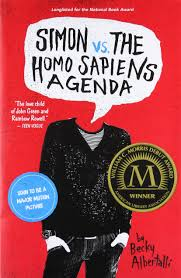 Image result for image simon and the homosapien agenda
