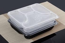 Acheter Boîte De Bento Jetable De Haute Qualité, 4 Compartiments ...