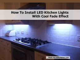 Kitchen Led Lights Led Kitchen Lighting Soul Speak Designs