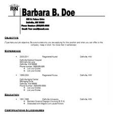 Nursing Resume Template Resumes Pinterest Nursing Resume
