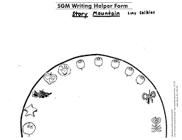 Story Grammar Story Mountain For The Story Grammar Marker For Teaching