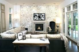 faux brick wall in bedroom brick accent walls interior faux brick wall family room with accent