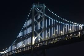 New Bay Bridge Lights