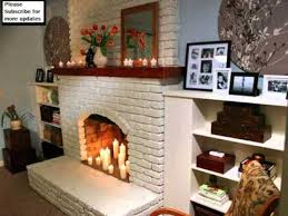 Pillar Candles Idea For Fireplace | Candles In Fireplace